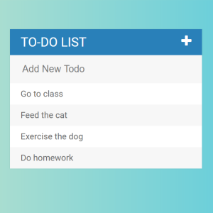 Web Dev Bootcamp Project - To Do List